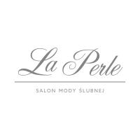 logo La Perle salon mody ślubnej